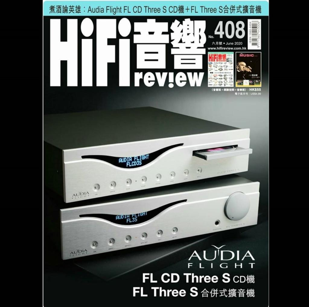 A wonderful review in HIFI REVIEW magazine of June from Hong Kong - News - Audia